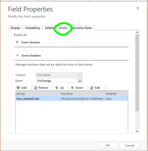 fieldProperties