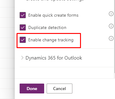 changeTrackingEnabled