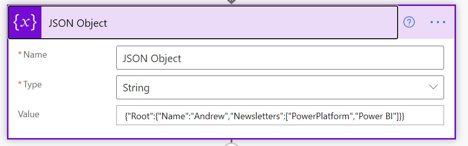 Converting JSON to XML and XML to JSON in a Flow | Power Automate